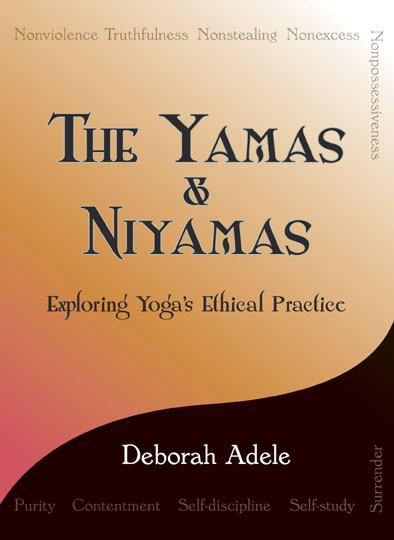 The Yamas & Niyamas book cover image.